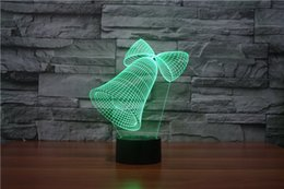Wholesale Dinosaur Beds - The New Dinosaur 9 Colorful 3D Touch Table Lamp Creative Energy Saving Lamp LED Lamp illusion