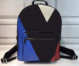 Wholesale Plaid Canvas School Bag - Backpack Style school bags Europe and America brand Fashion bags