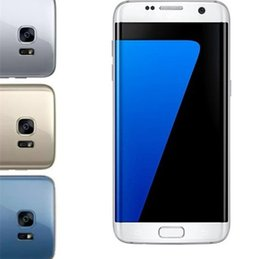 Wholesale Andriod 1gb - Metal Frame S7 edge Curved screen cellphone 5.5 inch Andriod 6.0 MTK6580 RAM 1GB ROM 8GB 3G WCDMA can show 4G LTE