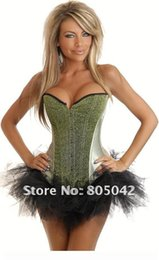 Wholesale Sexy Wedding Thong - Wholesale-Free shipping New Sexy Wedding Corset Tops bridal bustier Lingerie women's underwear corset+Thongs