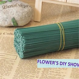 Wholesale Nylon Flowers Stocking - Free shipping 2# Dia: 2mm L: 40 cm nylon flower wholesale nylon stocking flower stems DIY flowers wires(50pcs lot )