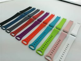 Wholesale Fitness Silicone Wristbands - Silicone Sport Band For Samsung Gear Fit2 Fit 2 Fitness Band Wrist Wearables Classic Replacement Silicone Bracelet Strap