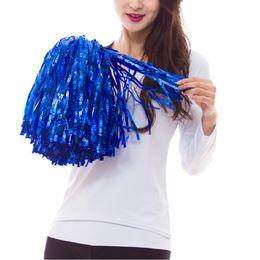 Wholesale Flower Dancers - Zymfox Cheerleading Pom Poms ,Flower Ball ,Aerobics Show Poms ,Dancing Ponpon ,Cheerleader Pompons For Dancers ,Hand Flower Pom Pon
