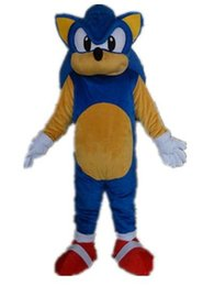 Wholesale Sonic Costumes For Adults - SX0720 a hot sale cartoon costume adult sonic mascot costume for adult to wear for sale