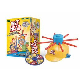 Wholesale Water Challenges - WET HEAD Water Roulette Game Challenge Jokes & Funny toys Family Desktop Table Toys Games Gift For kids
