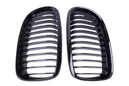 Wholesale Grill Doors - Gloss Black Front Kidney Grill Grille For BMW E90 E91 LCI 325i 328i 335i 4-Door 2009 2010 2011 #P204