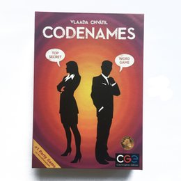 Wholesale Big Funny Cards - Newest Codenames Party Game Funny Games For Adults Social Word Game a Simple Premise And Challenging Game Play