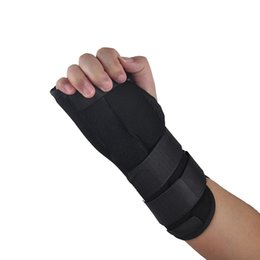 Wholesale Medical Supports - Carpal Tunnel Medical Arthritis Injury Wrist Brace Support Pads Sprain Forearm Splint Band Strap Safe Protector 2501042