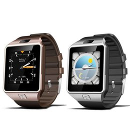 Reloj teléfono inteligente 1.54 online-QW09 Reloj inteligente Bluetooth 4.0 1.54 '' 3G WIFY MTK6572 1.2GHz Dual Core 512MB RAM 4GB ROM Podómetro Smartwatch Phone envío gratis