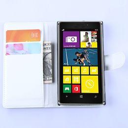 Wholesale Lumia 925 Flip - Free Shipping Lumia 925 Flip Case PU Leather Case For Nokia Lumia 925 Wallet Flip Cover With Card Slot