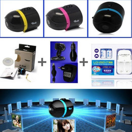Wholesale Ai Ball Mini Wifi Cam - AI Ball Mini Wifi Spy Cam ultra-portable IP Wireless Surveillance Camera use on PC smart phones including charger+USBcable+holder+extra batt