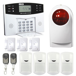 Wholesale Outdoor Siren Gsm - Safearmed®GSM Security Alarm Wireless Smart Security GSM Alarm System Wireless with Wireless Outdoor Siren