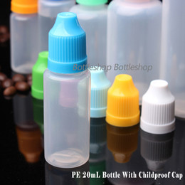 Wholesale China Wholesale E Cigarette Liquid - China Supply LDPE E liquid E cigarette Dropper Bottle With Childproof Cap and Long Thin Tip 20ml Empty Oil Bottles In Stock