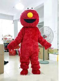 Wholesale Costume Couple - Couple Sesame Street Monster Cookie and ELMO Mascot Costume Adult Cartoon Costume