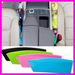 4 colori Car storage Bag Box Seat Pocket Car Seat Catcher Stow Tidying Pocket Bags Car Storage sedile multifunzionale divario contenitore di contenuti da
