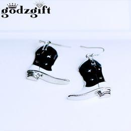 Wholesale Trendy Boots For Women - Godzgift Women Boots Design 2017 New Brand Earrings For Women Jewelry Trendy Geometric Stud Earrings Jewelry JE0112