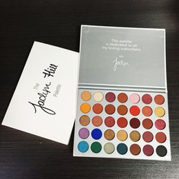 Wholesale Waterproof Free - New Makeup Eye shadow 35 colors Eyeshadow Palette The JaclYn Hill Palette Eye Shadow Free Shipping
