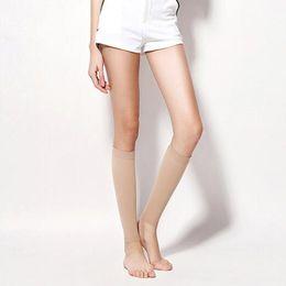 Wholesale Thin Tube Socks - Women Care Thin Leg Shank Calves Shaper Slimming Burn Fat Calorie Socks Compression Stovepipe Footless Warmer Tube Loop