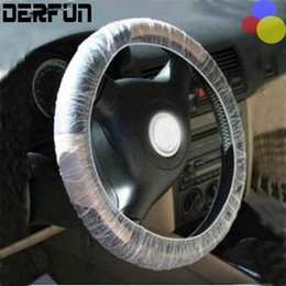 Wholesale Shopping Covers - 500PCS Car plastic disposable steering wheel cover 4S shop dedicated automotive interior cleaning protection ,repair tools,Parts