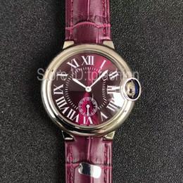 Wholesale Second Hand Dresses - Elegant Top Fashion Quartz Watch Women Classic Hour Silver Dial Independent Second Hand Design Leather Strap Dress Clock 1603