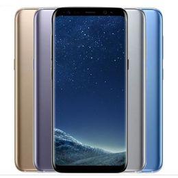 android solo teléfono celular Rebajas Reacondicionado Original Samsung Galaxy S8 + S8 Plus G955F G955U 4G 6.2 pulgadas Octa Core 4GB RAM 64GB ROM 12MP 3500mAh Teléfono inteligente DHL 1pcs
