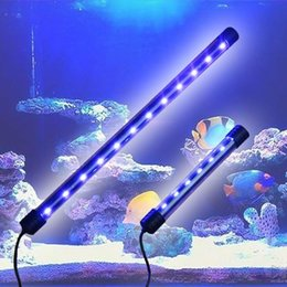 Bande de poisson en Ligne-Nouveau 3.5W / 6W Haute Pénurie Aquarium Fish Tank LED Lumière Submersible Étanche Bar Strip Lampe EU Plug