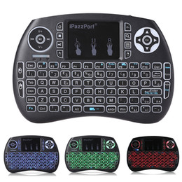 Wholesale Tv Oem Android - Air Mouse Remote 2.4GHz Mini Keyboard Wireless Multi-Media Remote Control For s912 S905W S905X tv box Android Mini PC