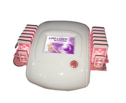 Wholesale Machine For Lose Weight - 14 pads ! zerona lipo laser lose weight slimming machine for sale