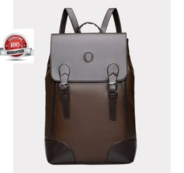 2b4b7056bda9 leather travel hiking bag Coupons - Men s Business Backpack Bag Vintage Leather  Laptop Backpack Rucksack School