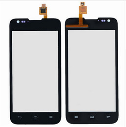 Wholesale Mobile Phone Screen Glass Lens - mobile phone touch screen digitizer for huawei Ascend y550 touch panel display front glass lens sensor replacement touch screen