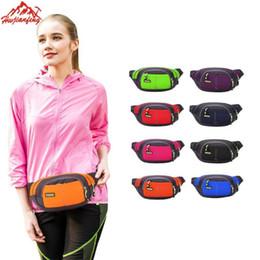 Wholesale Army Belt Pouch - Wholesale- 2017 Men Women Male Casual Functional Fanny Bag Waist Bag Money Phone Belt Bag Fanny Pack Waist Belt Zip Pouch #25