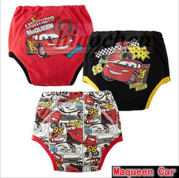 Wholesale Cars Color Mcqueen - Kids INS Buzz Pants BB Pants Ins Mickey Diaper Covers Infant Shorts Frozen Winnie Pants Ins PP Pants Mcqueen Car Shorts Nappy Cover A877 270