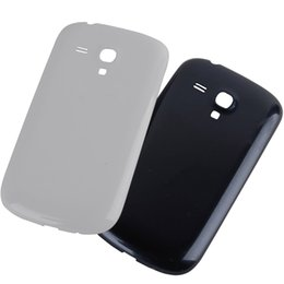 Wholesale Galaxy S3 Original Cover - for Samsung Galaxy S3 mini i8190 Original OEM White&Black Housing Back Cover Battery Back housing Cover Case