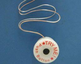 Argentina 1000 unids Pruébame interruptor de botón con conector para tira de luz led, fuente de batería cr2032 de juguete etc. Suministro