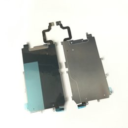 Wholesale Home Iphone Metal - For iphone6 LCD Metal Shield Backplate With Home Button Extend Flex Cable for Iphone 6 4.7 5.5Inch 6 Plus