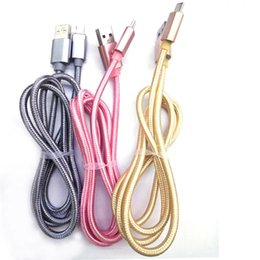 Wholesale Nylon Factory - Factory sells high quality 2M 3M high nylon braided Micro-usb cable,Type-c cable.Recharging data transmission synchronizati