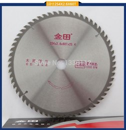 """Wholesale wood timbers - 10"""" x 60T or 254x2.6x60tx25.4 TCT wood saw disc cutting blade for wood log timber"""