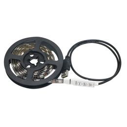 Светодиодные полосы USB свет лампы SMD5050 RGB черный PCB 5 в 60 светодиодов 1 метр/катушка водонепроницаемый IP65 ТВ фоновое освещение Рождество свет газа cheap led lamp pcb rgb от Поставщики светодиодная лампа pcb rgb