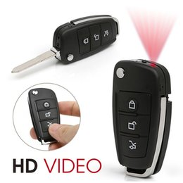 Wholesale Mini Night Vision Car Camera - 1080P DVR Multifunctional Hd Recorder Camera Hidden Camera Car Key Chain Mini Spy Camcorder DVR IR Night Vision S820 with Motion Dectection