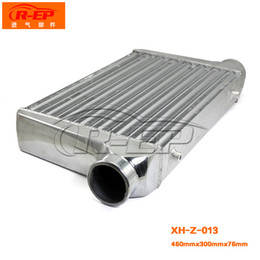 Wholesale Intercooler 76mm - Automobile cooling cooling network modified 460*300*76mm engine modified turbine cooler intercooler