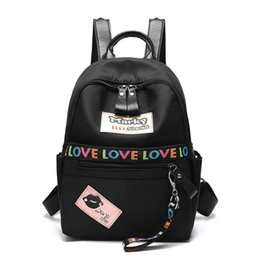 Wholesale Ladies Luggage Bags - Luggage wholesale new backpack shoulder bag student package simple trend leisure fashion wild women fashion backpack