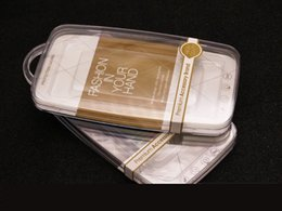 Wholesale Ps Plus - Phone Case PS Transparent Crystal Box Packing with Blister inner holder Paper Card for iPhone 6S Plus Samsung S6 S7 Edge Retail Packaging
