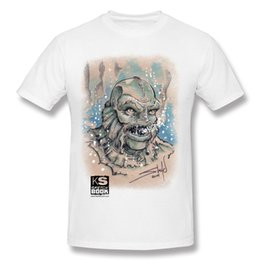 Wholesale Custom Book Printing - Fashion Short Sleeved T-Shirts t shirts for men new style Gill Creature Sketch Book Series Custom Tees.