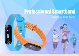 Wholesale Apple Packing Design - Original Bluetooth Smartband Smart Wristbands health Wristband Pedometer heart rate test Waterproof design smart watch box pack high quality