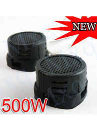 Wholesale Car Stereo Tools - Wholesale Cheapest universal 2X Super Power Loud Stereo Audio Dome Portable Mini Tweeter Speakers for Car Auto 500W Pro Supplies