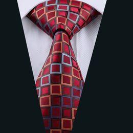 Wholesale Silk Tie 8cm - 8CM Corbatas Hombre New Brand Cravate Fashion Grid Gentleman Gravata Wedding Official Ties for Men Neck Silk Tie D-1115