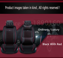 Wholesale Full Drain - 2016 Newly!Special leather car seat covers For Citroen All Models c4 c5 c2 c3 drain BLACK GRAY RED BLUE accessories car styling