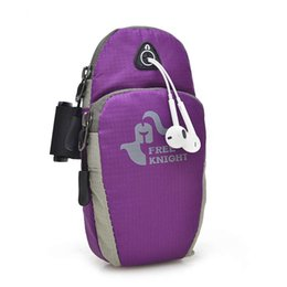 Wholesale Champagne Envelopes - 2017 women men sport bags arm bags gym running hiking travel riding bag iphone6plus bag outdoor bag