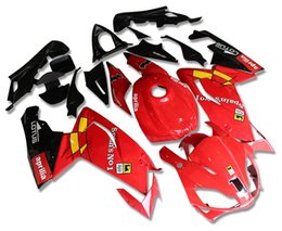 Wholesale 125 Fairing - New ABS Injection Mold Fairings Kits +Tank cover Fit For For Aprilia RS125 RS 125 2007 2008 2009 2010 2011 06 07 08 09 10 11 Red black