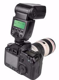 Wholesale Pentax Camera Flash - VILTROX JY-680A strobe lights Universal LCD Flash Speedlight for Canon Nikon Pentax Olympus Cameras